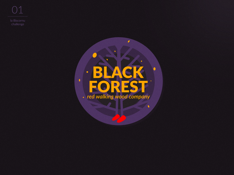 Black Forest - logotype
