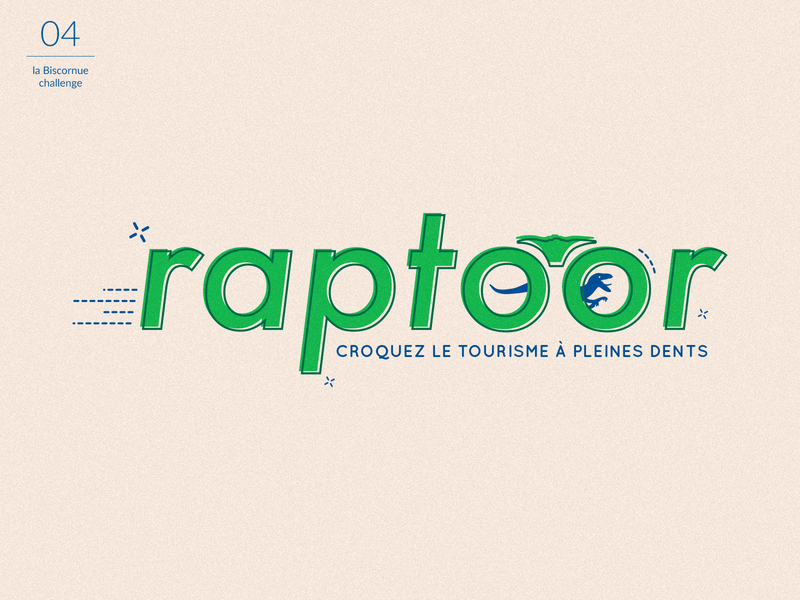 Raptoor : logo tourism agency