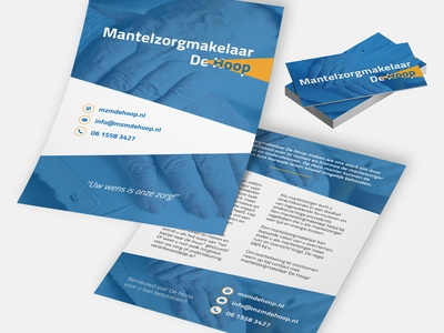 New flyers made by Maintain Design brand identity logo design business card flyer mockup flyer