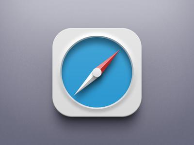 iOS 7 Safari icon