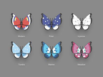 Pokémon XY Vivillon multicolour vivillon butterfly pokémon nintendo 3ds icon pokémon xy