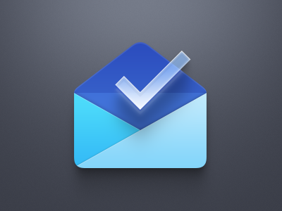 Inbox by Gmail icon for Smartisan OS android blue transparent email smartisan os icon gmail inbox