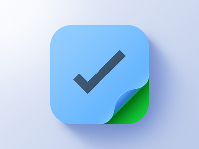 Roll and Light Exercise ios apple ui icon app checkmark green blue exercise light roll