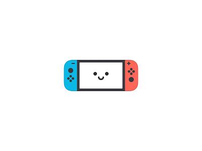 Nintendo Switch nintendo game red blue ui icon switch