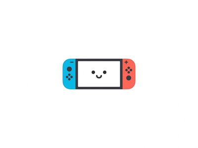 Nintendo Switch nintendo game red blue ui icon switch