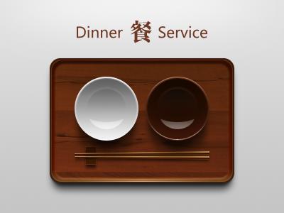 Lacquer tableware black white lacquer tableware icon china bowl plate chopsticks