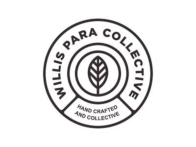 Willis Para Collective handcraft brew packaging logo branding badge design
