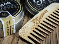 King Solomon Beard Co. Packaging
