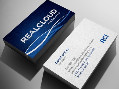 RealCloud Imaging Business Cards