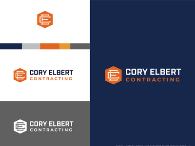 Contracting logo