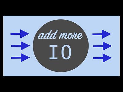 AddMoreIO 01 adobe illustrator sketch electronics graphic blog web illustration