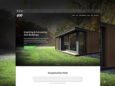 Outdoor space website WIP architecture garden outdoor green minimal web design website