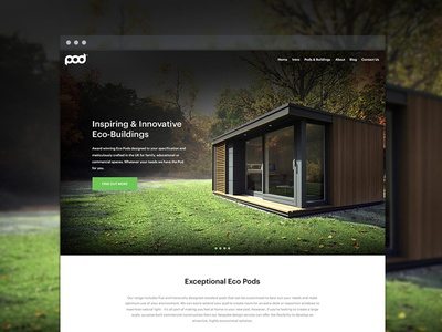 Outdoor space website WIP