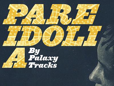 Pareidolia ziggurat gold white display music palaxy tracks