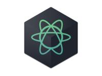 Atom Icon (Dark)