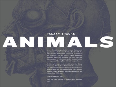 Palaxy Tracks site update chronicle knockout website animals palaxy tracks