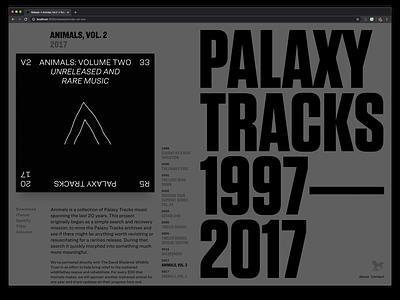 PalaxyTracks.com → Archive