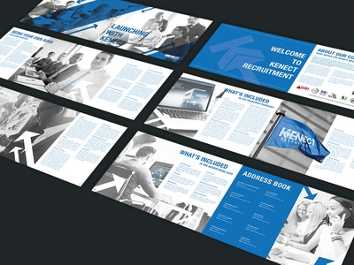 Kenect Recruitment Franchise Brochure - Spreads