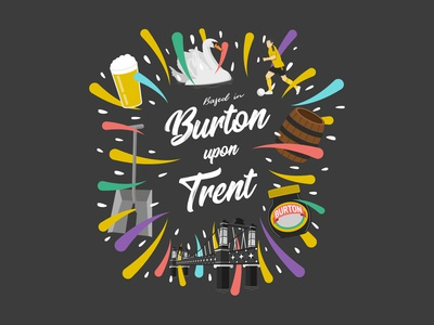 Burton upon Trent Illustration