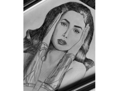 wonderwoman sketch wonderwoman sketch