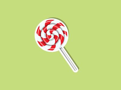 lollipop sticker lolipop vector illustration