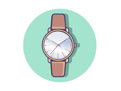 watch gradient watch vector illustration