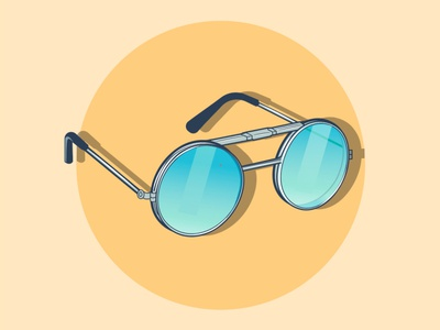 sunglasses sunglasses gradient vector illustration