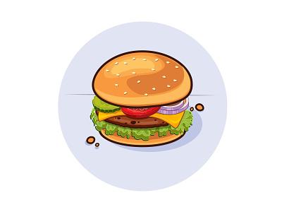 burger burger vector illustration