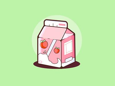 milk carton milk carton vector illustration