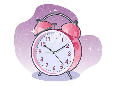 alarm clock alarmclock gradient vector illustration