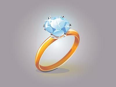 Ring realistic adobeillustrator gradient vector illustration ring