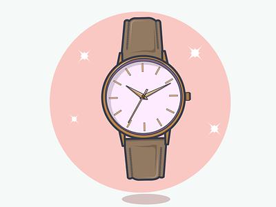 Wrist watch vector illustration wrist watch