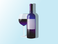 galaxy in Wine