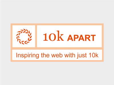 10k Apart logo design web css performance optimized web design 10k apart a list apart