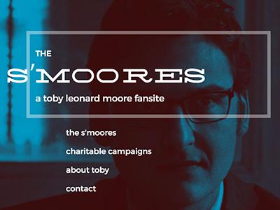 WIP - Toby L Moore Fansite web typography fansite daredevil wip logo website