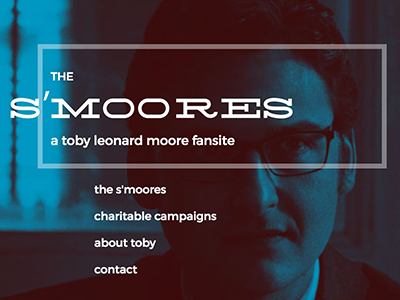 WIP - Toby L Moore Fansite web typography fansite daredevil wip logo website