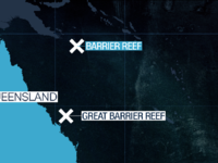 Reef Map Closeup