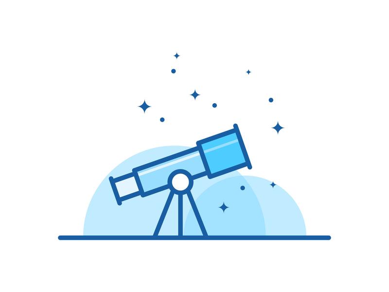 Explore  $$ Premium icon sets are  available icon design icon vector icon illustration space star planet scope telescope