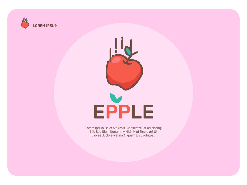Epple icon $$  Premium icon sets are available design red fruit illustration vector fruit icon apple icon icon apple watch fruit epple logo web apple design brand apple