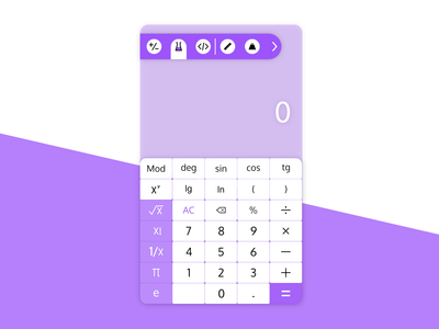 Clean Calculator App