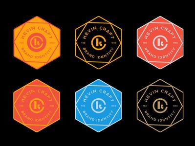 Kevin Craft Co Logo Badges
