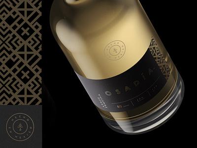 Osadia Tequila label liquor gold mexico spirits tequila agave brand identity logo design identity typography logo type seal mark logo icon geometric design branding brand