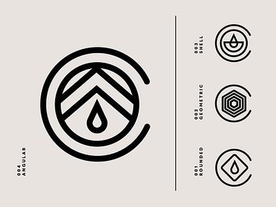 Coffee Pod Logo Design flat coffeeshop bean coffee brand identity logo design identity typography logo type set seal mark logo icon graphic design geometric design branding brand