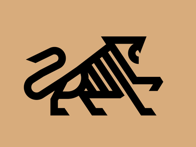 Lion Symbol illustration cat lion illustrator