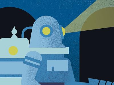 Bioshock Illustration #Rosie graphic design illustration design videogames bioshock