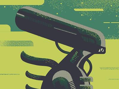 Alien print screen vector illustrator profile texture illustration space aliens ripley alien
