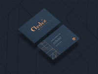 Clyde's Business Cards