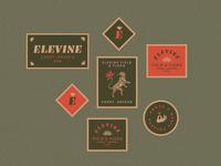 Elevine Stickers
