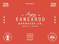 Angry Kangaroo Logos #1