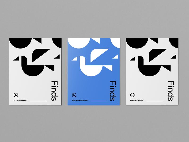 Finds Icon typography type seal logo logo design mark geometric print graphic design flat brand branding swiss minimal black blue symbol iconography icon set icon